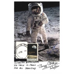 Apollo 11 Signed Photo