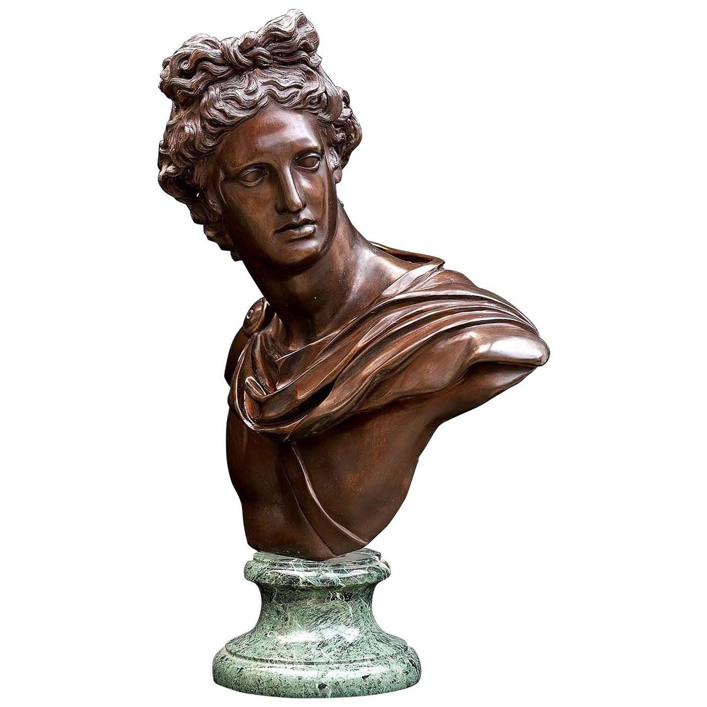 Apollo Belvedere Bronze Sculpture