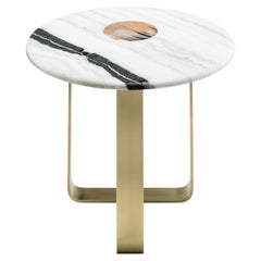 Apollo Side Table in Bronzed Metal