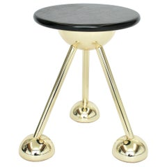 Apollo Tripod Side Table in Gold by Connor Holland