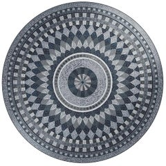 Apollon Round Mosaic Panel by Mutaforma