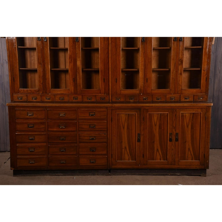 Apothecary Display Cabinet circa 1930s Number 8 For Sale 5