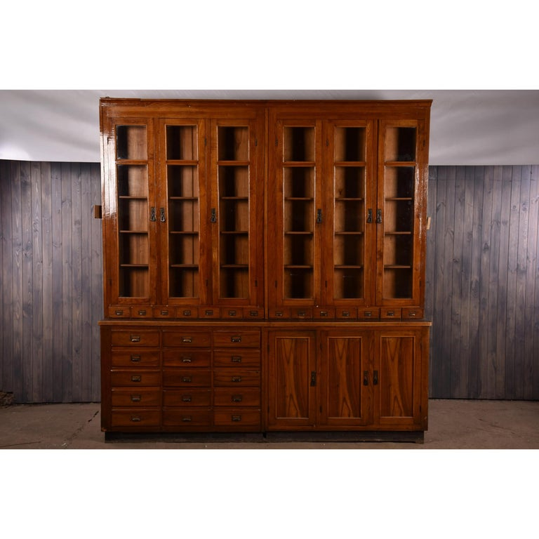 Apothecary Display Cabinet circa 1930s Number 8 For Sale 6