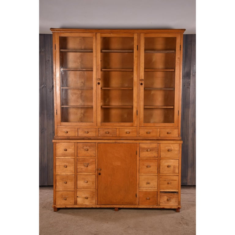 Apothecary Haberdashery Display Cabinet circa 1930s Number 10 For Sale 3