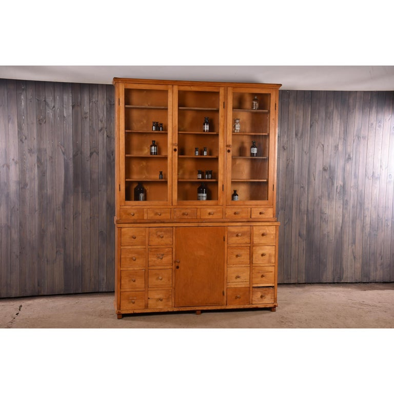 Apothecary Haberdashery Display Cabinet circa 1930s Number 10 For Sale 4