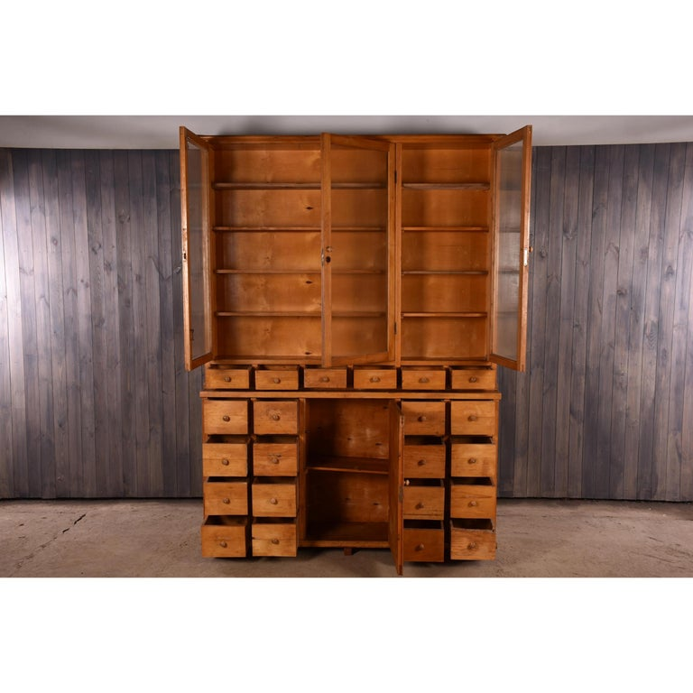 Apothecary Haberdashery Display Cabinet circa 1930s Number 10 For Sale 2