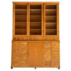 Apothecary Haberdashery Display Cabinet circa 1930s Number 10