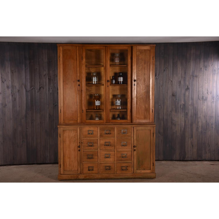 Apothecary Haberdashery Display Cabinet circa 1930s Number 9 For Sale 5