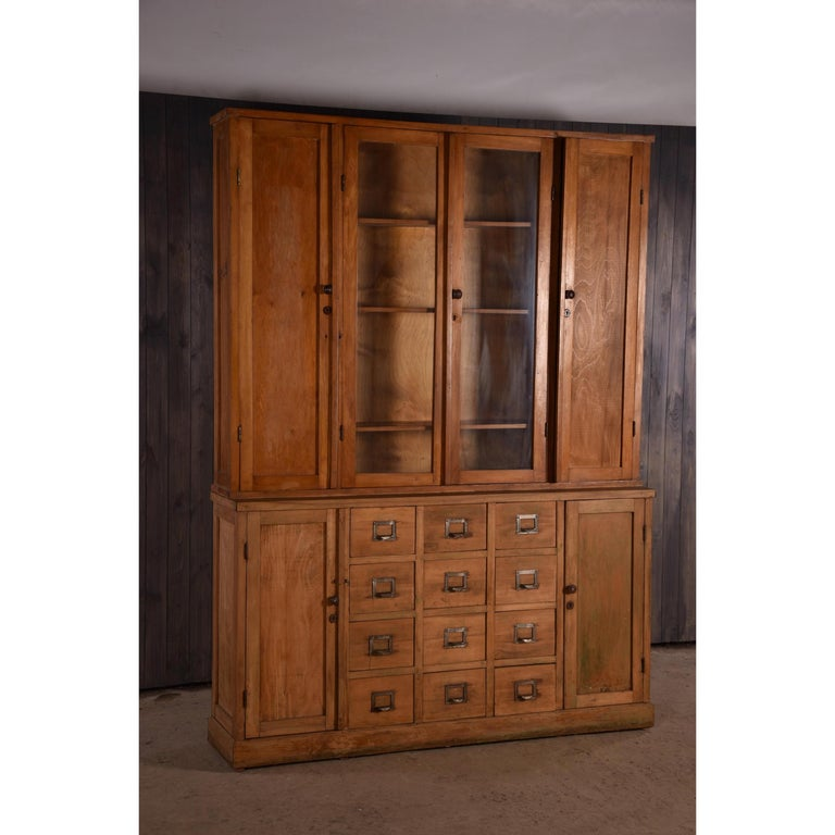 Apothecary Haberdashery Display Cabinet circa 1930s Number 9 For Sale 2