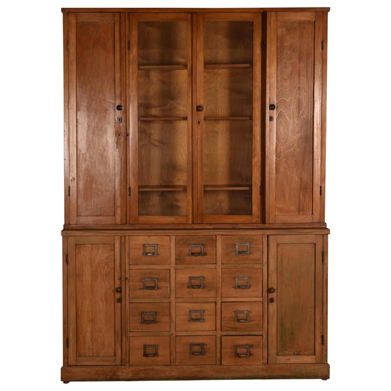 Apothecary Haberdashery Display Cabinet circa 1930s Number 9 For Sale