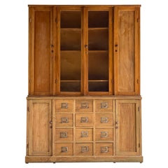 Apothecary Haberdashery Display Cabinet circa 1930s Number 9