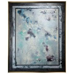 Appaloosa by Jessica Mayer Fine Art Textured Metal Canvas Cerused w/ Metal Waxes