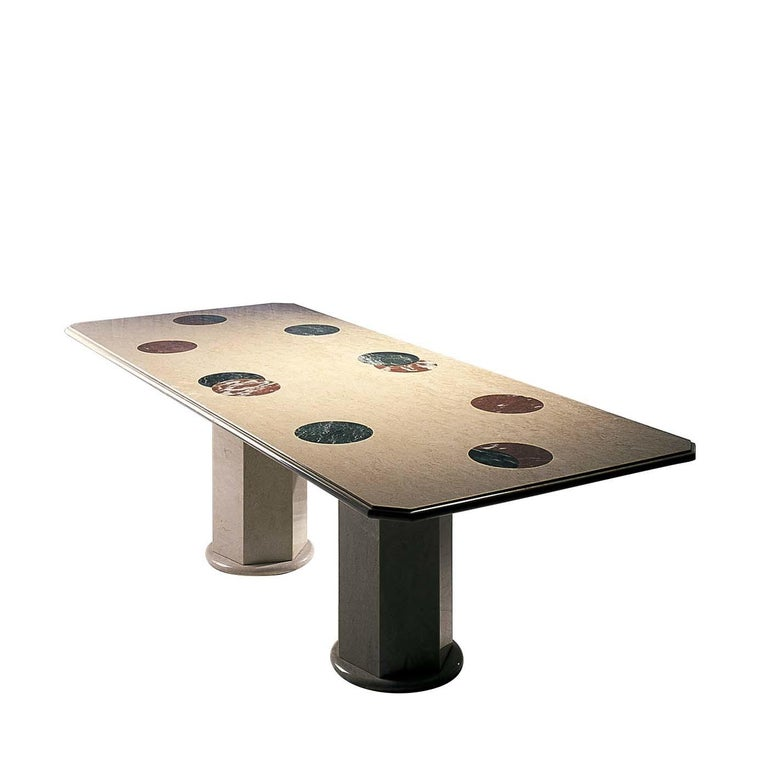 Mid-Century Modern Apparata Table by Adolfo Natalini For Sale