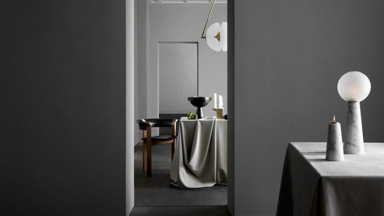 Apparatus Studio Neo Vessel Nero Kinitra Black Marble In New Condition For Sale In Vancouver, BC