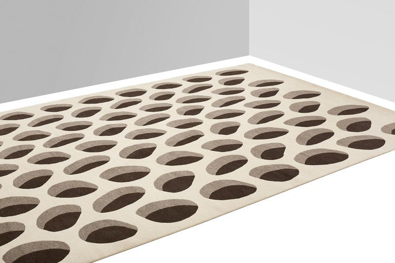 Hand-Knotted Apparence Carpet, Hand Knotted in Wool, 100 Kpi, Xavier Lust For Sale