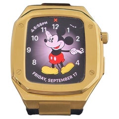 Apple Watch Custom ROO Style 18k Gold Plated Watch Case Awyel