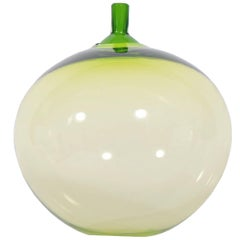 """Apple"" Art Glass by Ingeborg Lundin for Orrefors"