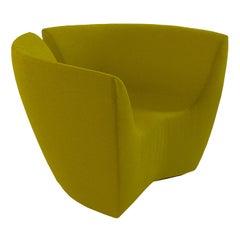 Apple Divina Green Felt Armchair