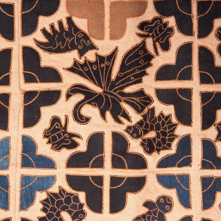 Folk Art Appliquéd Chinese Minority Textile For Sale