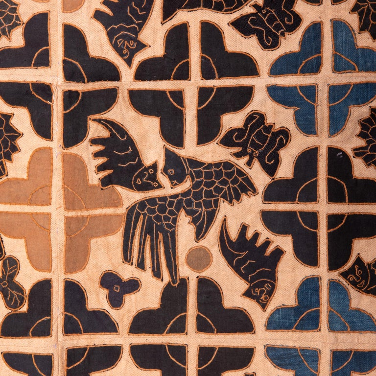 20th Century Appliquéd Chinese Minority Textile For Sale