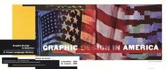1989 After April Greiman 'Graphic Design in America' Multicolor Lithograph