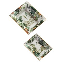 Apulia, Contemporary Porcelain Pocket Emptier, Two Sizes, by Vito Nesta