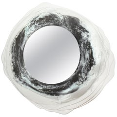 Aquae, Spherical Glass Mirror