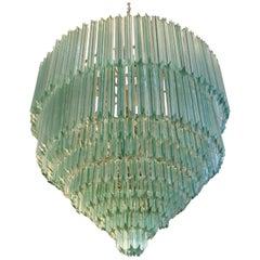Aquamarine Chandelier by Venini
