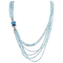 Aquamarine Necklace by Tiffany & Co., 571.55 Carat