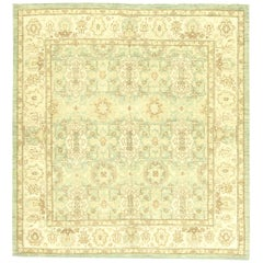 Aquamarine Traditional Oriental Inspired Rug