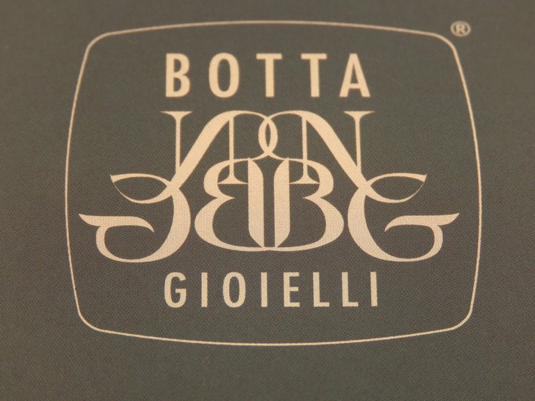 Aquamarine White Gold Necklace Handcrafted in Italy by Botta Gioielli For Sale 2