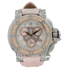 Aquanautic Princess Cuda Wristwatch, Limited Edition Pink Diamonds, Quartz