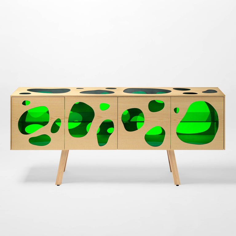 Sideboard designed by Fernando and Humberto Campana in 2016