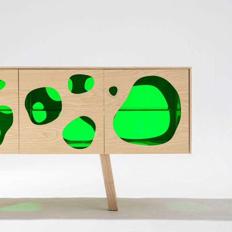 Modern Aquario Sideboard Campana Brothers For Sale