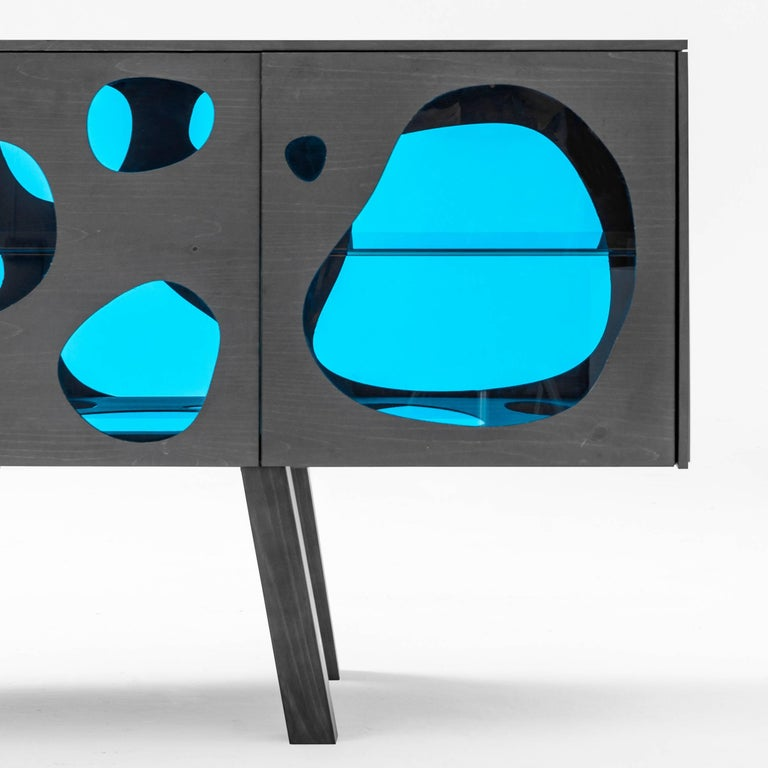 Modern Aquario Sideboard Campana Brothers For Sale