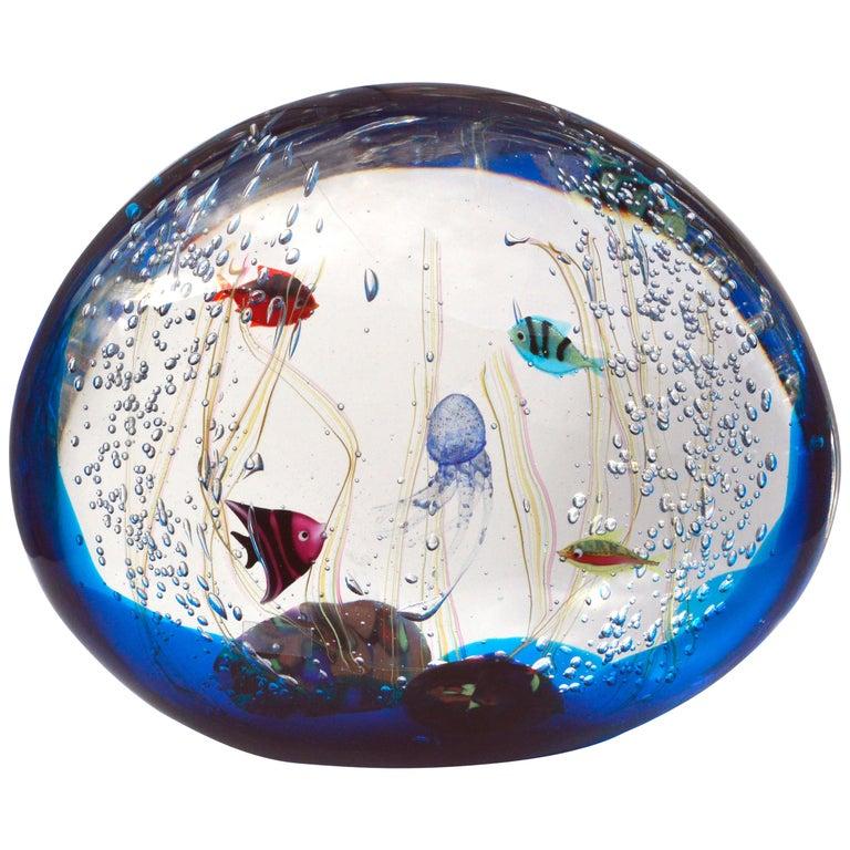 Aquarium by Elio Raffaeli for Ars Murano For Sale