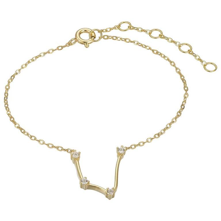 Aquarius Constellation Bracelet For Sale