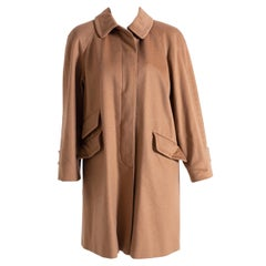 Aquascutum Camel-Colored Women's Trench Coat
