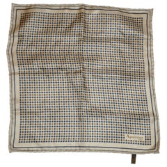 Aquascutum Iconic Men's Silk Handkerchief