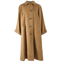 Aquascutum Vintage Camelhair Long Swing Coat, 1960s
