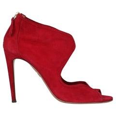 Aquazzura  Women   Pumps  Red Leather EU 39