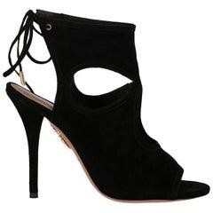 Aquazzurra Woman Sandals Black EU 36