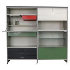 A.R. Cordemeijer/L. Holleman Model 5600 For Gispen Industrial Cabinet, Secretary