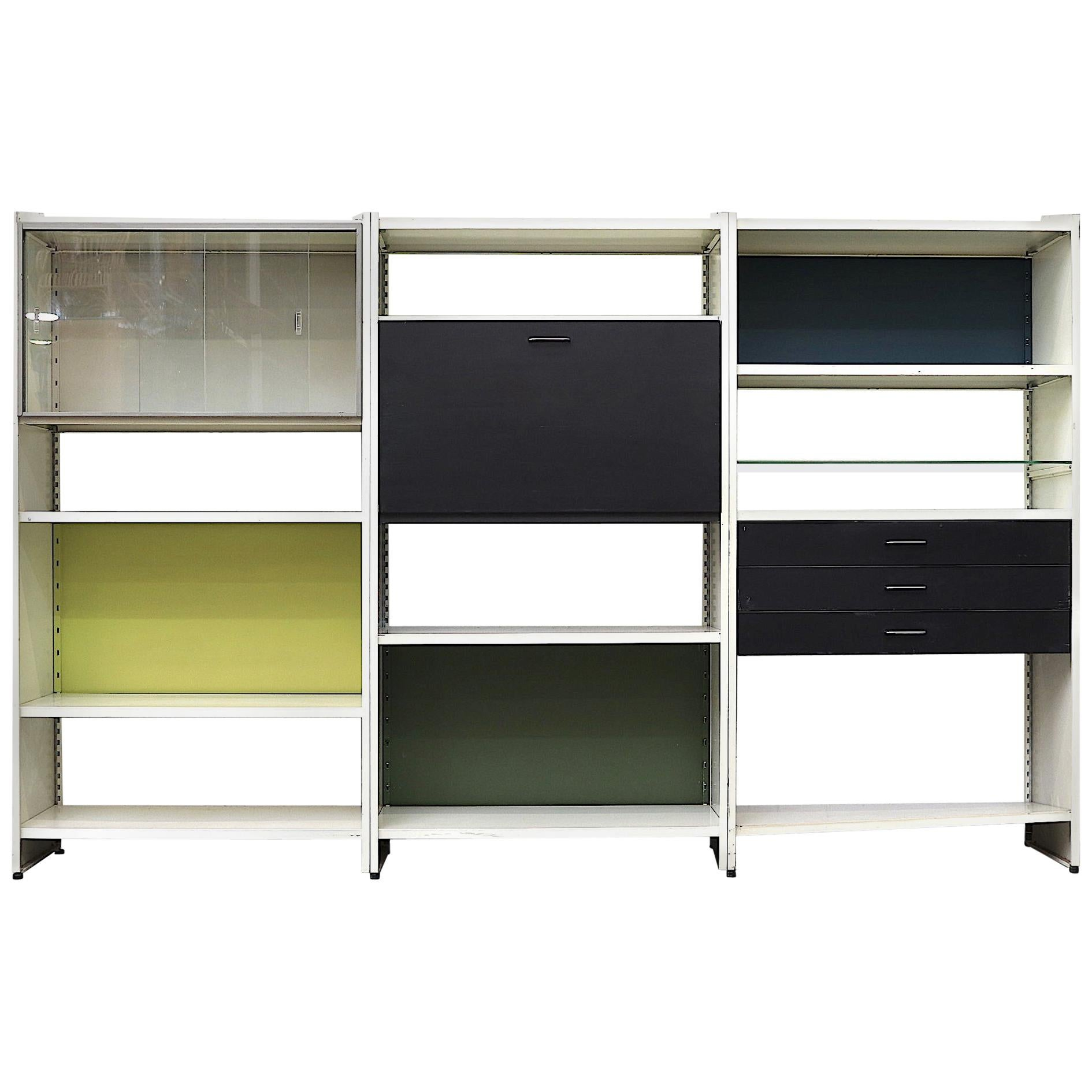 A.R. Cordemeyer 3 Section Cabinet for Gispen
