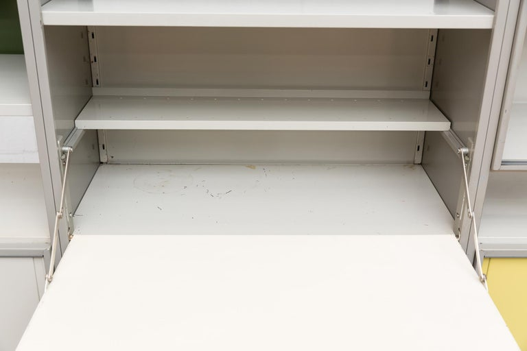 A.R. Cordemeyer Three-Section Cabinet for Gispen For Sale 6