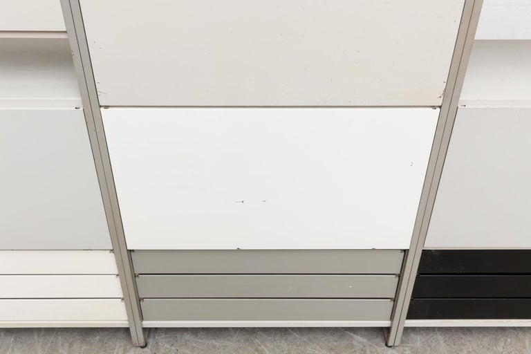 A.R. Cordemeyer Three-Section Cabinet for Gispen For Sale 1