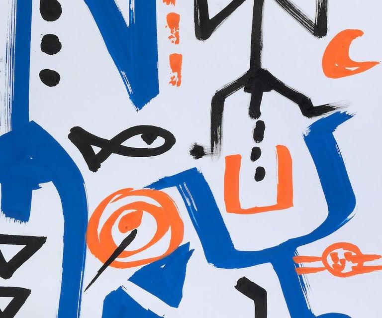Ohne Titel - Modern Mixed Media Art by A.R. Penck (Ralf Winkler)