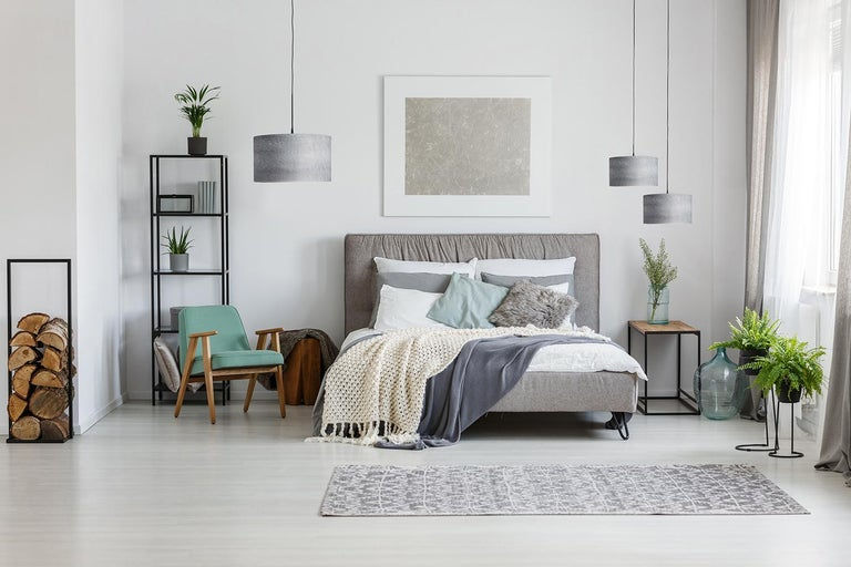 This large grey bird's eye maple drum light, ARA, is a mid-century modern style pendant. Designers use a chandelier for alcove, entryway, dining room or conference room. ARA is a customizable shade offered in several wood types. ARA gives a warm