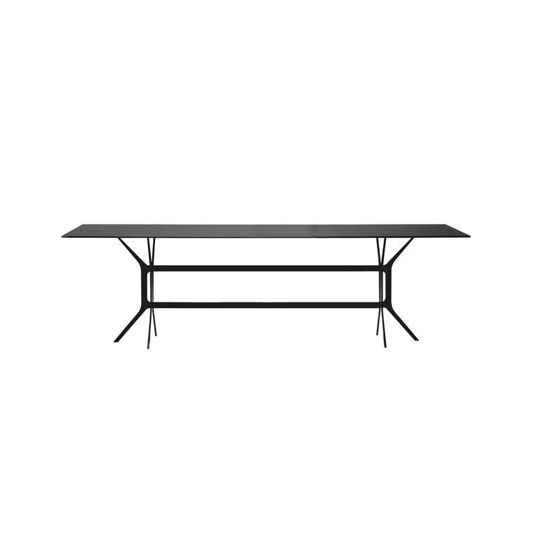Italian In Stock in Los Angeles, Arabesque Black Dining Table, Made in Italy For Sale