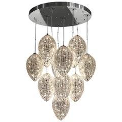 Arabesque Egg 14-Light Pendant Lamp
